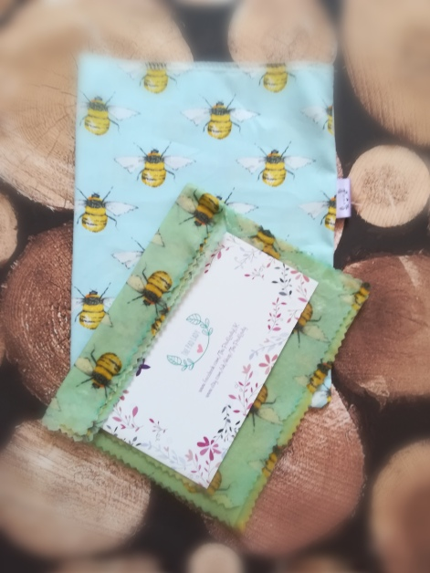 Sussex Ethical Beeswax Wrap 3 Pack